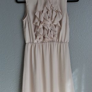 Biege H&M Dress - Size 6